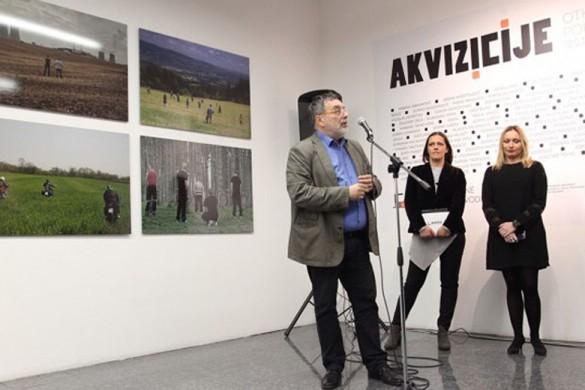 З отвераня вистави з хтору Музей сучасней уметносци Войводини почал означовац 50-рочнїцу роботи