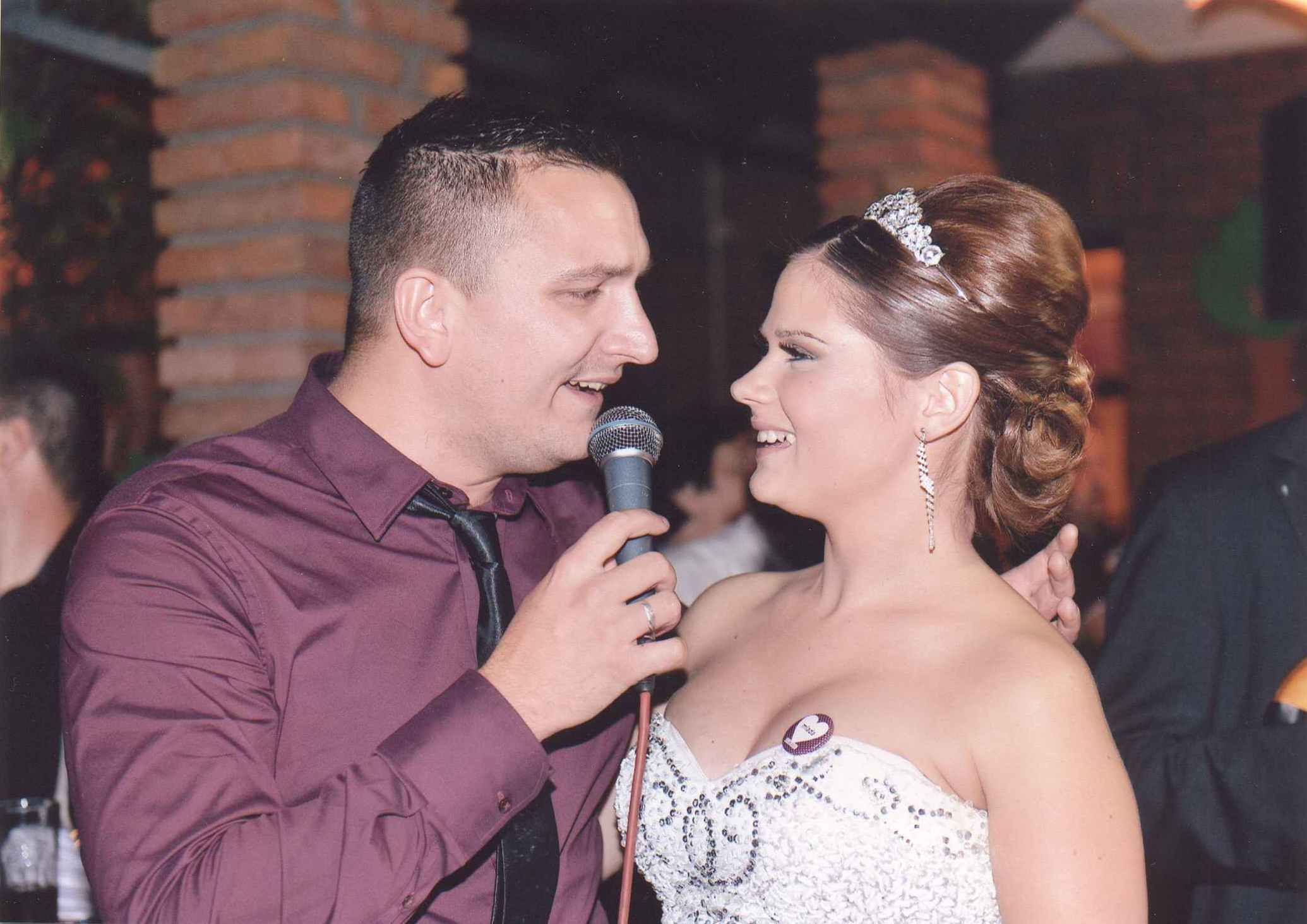 На єдней свадзби Иван упознал и свою супругу Ану