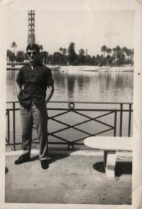 Владимир у Єгипту на рики Нил