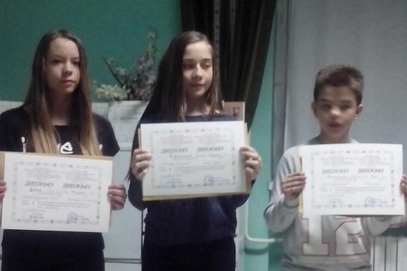 На порядней роботнї придати и дипломи новосадским школяром