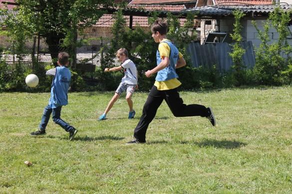 Млади з Каритасу и Фоколарох орґанизовали Спортски дзень