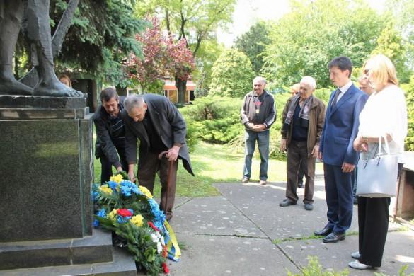 Дзень побиди означени и з амбасадором України