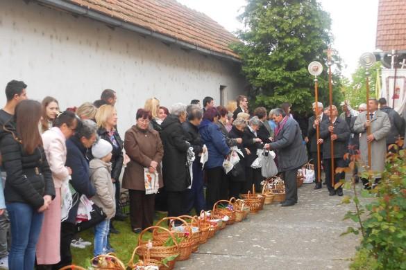 Кулянци Други дзень Пасхи преславели з кир Георгийом