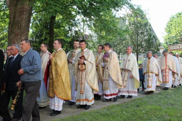 Керестурска парохия з госцами преславела Кирбай