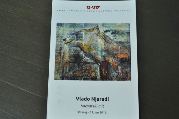 У Новом Саду отворена изложба Владе Њарадија