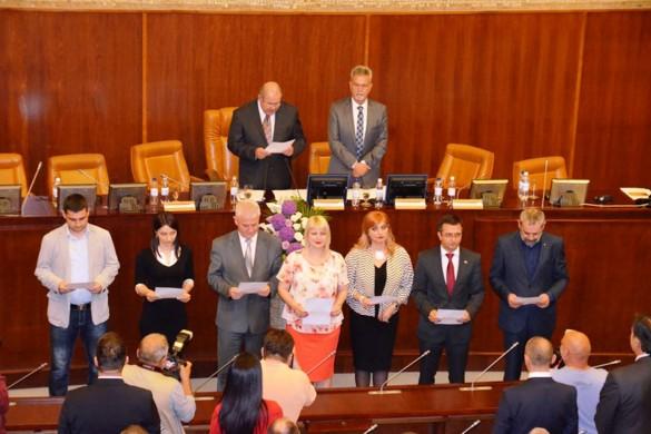 Конституована Скупштина Войводини, Пастор знова предсидатель