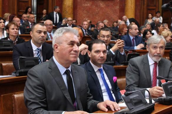 Народна скупштина конституована, вибор предсидателя на пондзелок