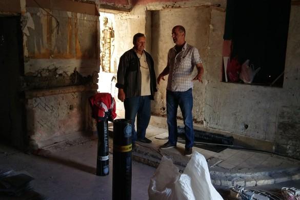 Почало адаптованє Дому Руснацох у Коцуре