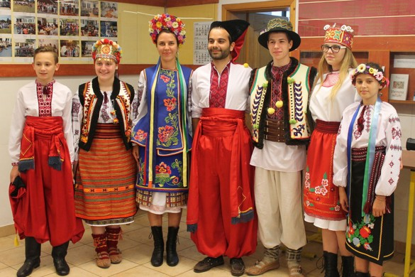 Вчера на Кампу представени Українци