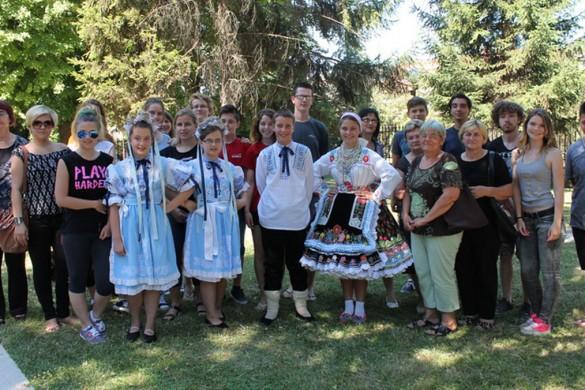 Вчерайши дзень на Кампу у знаку Словацох