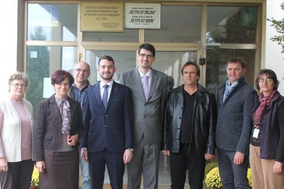 Керестур вчера нащивели Русини з Министерства школства Словацкей