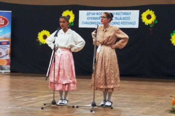 Дружтво Руснацох у Суботици на Фестивалє у Сенти