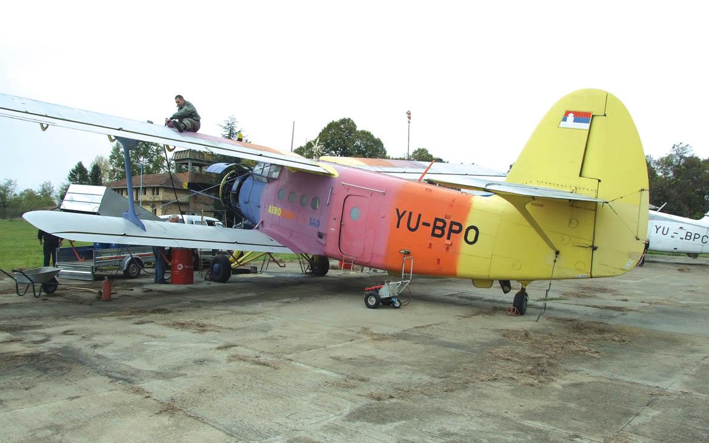 Авион АН 2 затераз єдини хтори може лєциц