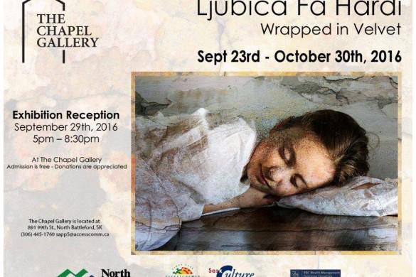 У Канади вистава уметнїцких дїлох Любици Фа-Гарди