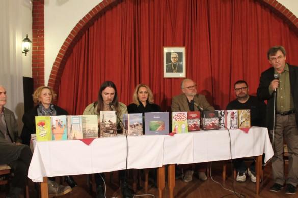 """Промоция нових кнїжкох пред числену публику на централней програми """"Костельниковей єшенї"""""""