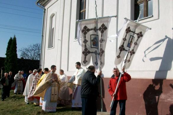 Седемцме священїки на Кирбайскей Служби у Беркасове
