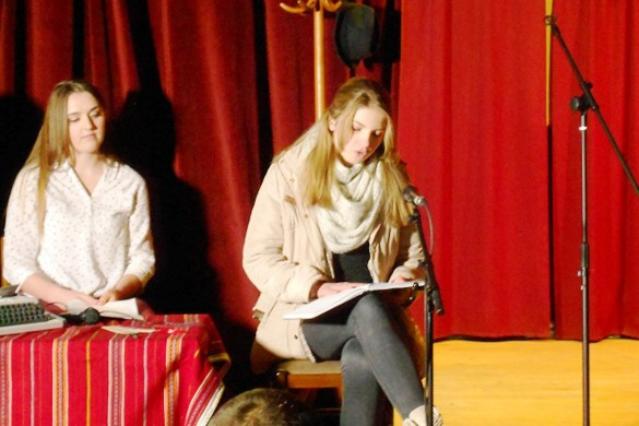 Отримани Литературни вечар младих