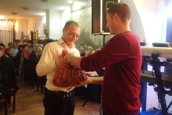 На Русиновим балу Иґор Грнчяр преглашени за найлєпшого бавяча