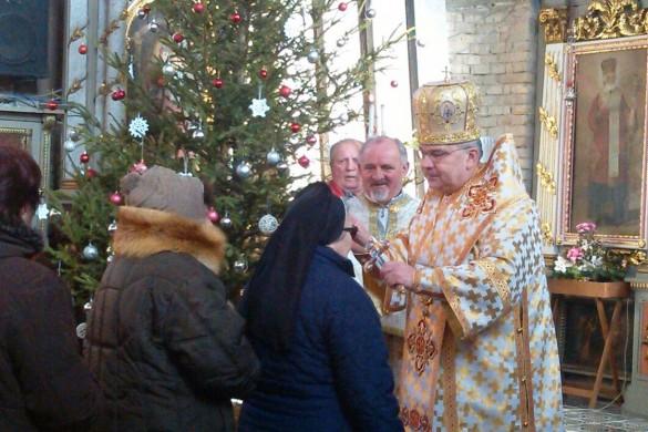 Крачун преславени у трох церквох, у нашей и з владиком