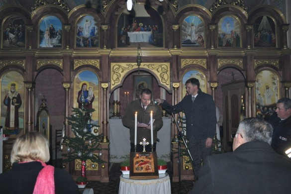 Служба Божа и як подзекованє на дару националней припадносци