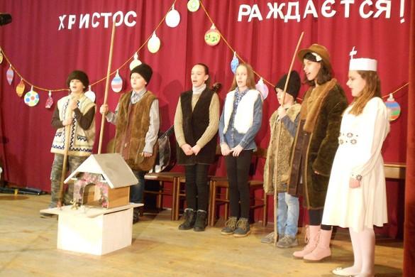 Традицийне колядованє у дюрдьовским Дружтве