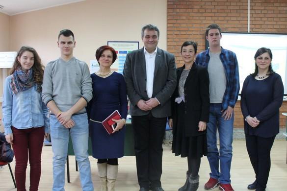 Презентовани проєкт ЕУ у хторим участвує и керестурска Школа
