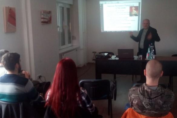 Преподаванє проф. др Паждєрского о Кашубох