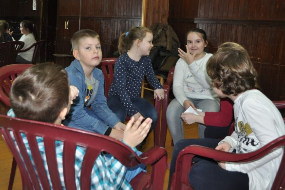Друженє дзецох у Руским културним центре