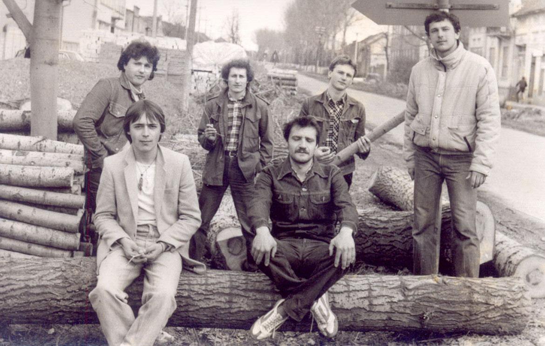 "Бенд ""Паприґаре"" зоз 1981. року"