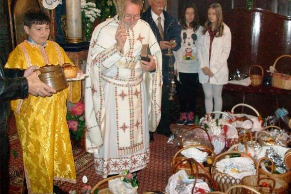 У наших сримских парохийох торжествено означена Велька ноц