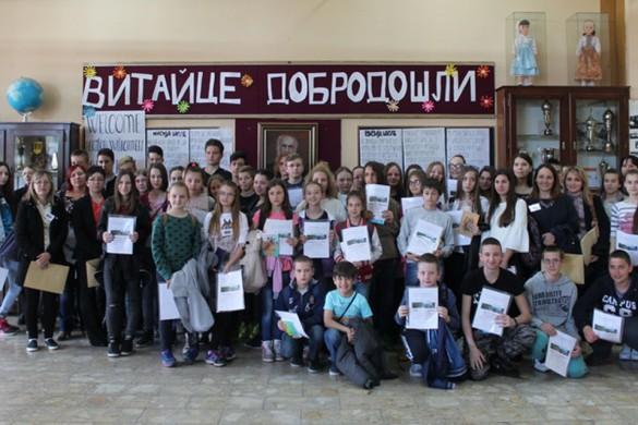 На Медзиокружним з руского язика наградзени 28-еро школяре