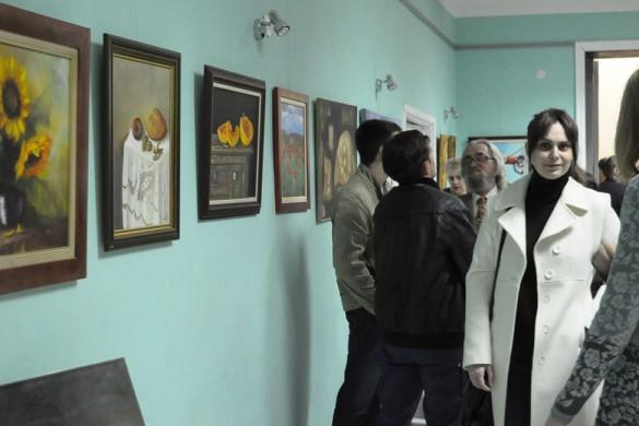 У РКЦ отворена вистава подобових уметнїкох з Вербасу