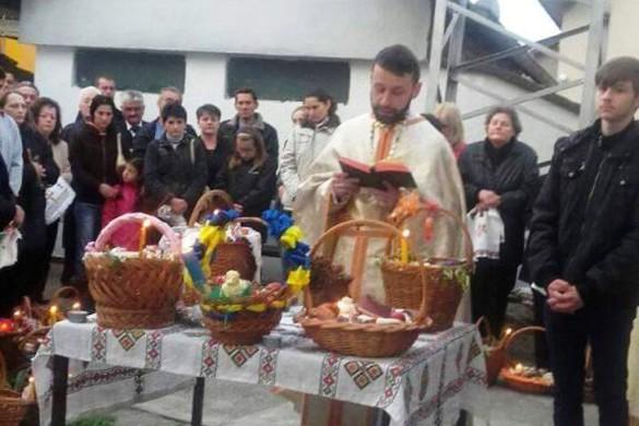 У церкви у Новим Вербаше пошвецени 107 кошарки