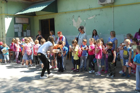 У Дюрдьове було Стретнуце руских предшколских дзецох