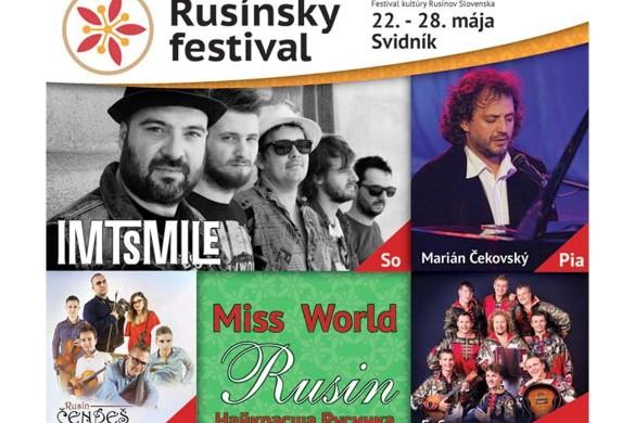 Тирва Русински фестивал, на соботу и вибор найкрасшей Русинки