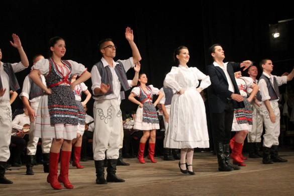 Удатни концерт ансамблу керестурского Дому култури