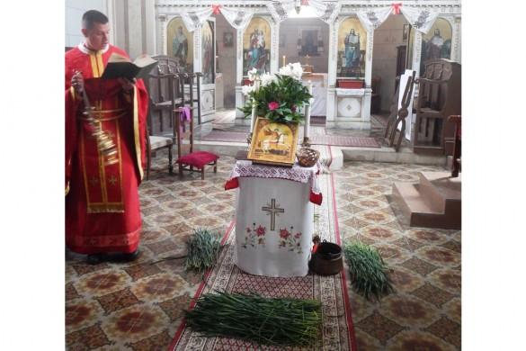У наших церквох у шидскей општини на Дзуря пошвецене жито