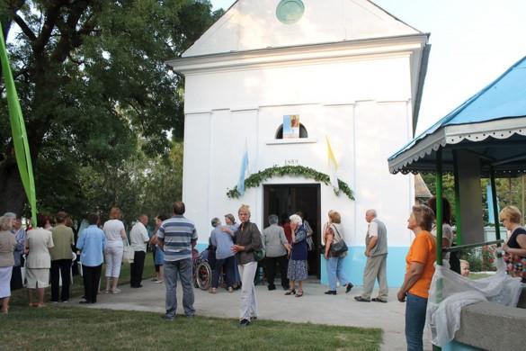 Нєшка на Завитни дзень преслава ювилею, уж вчера вельо вирних у Водици