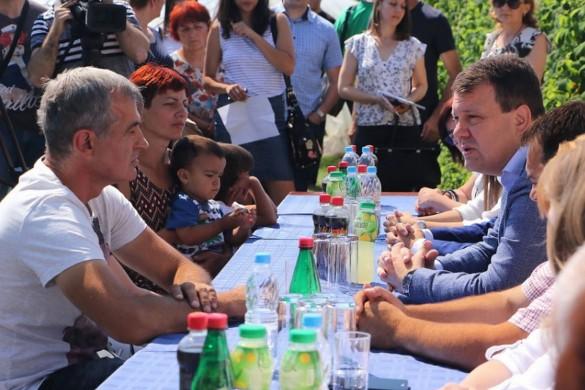 Иґор Мирович вчера у Коцуре нащивел фамелиї вибеженцох
