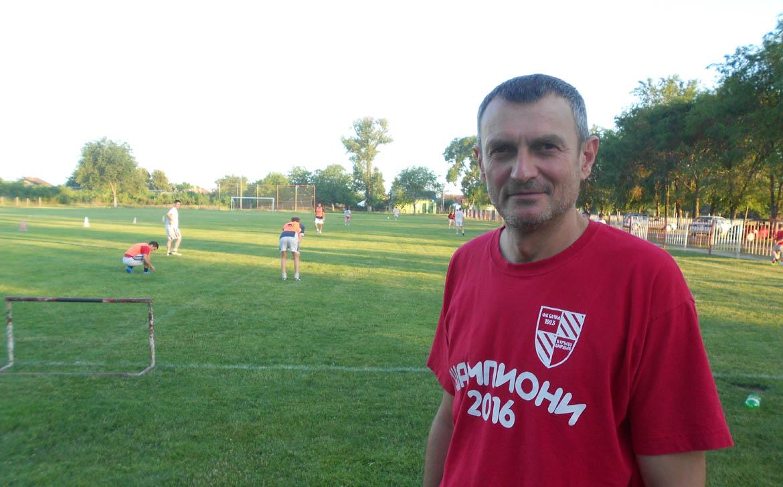 Ґоран Андєлкови, тренер ФК Бачка