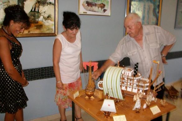 Вистава роботох з древа Мирка Беркеша