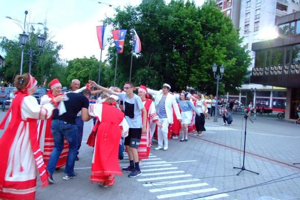 Ансамбл з Русиї наступел у Вербаше
