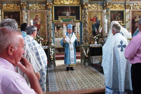 Кирбай у Коцуре з владиком Георгийом