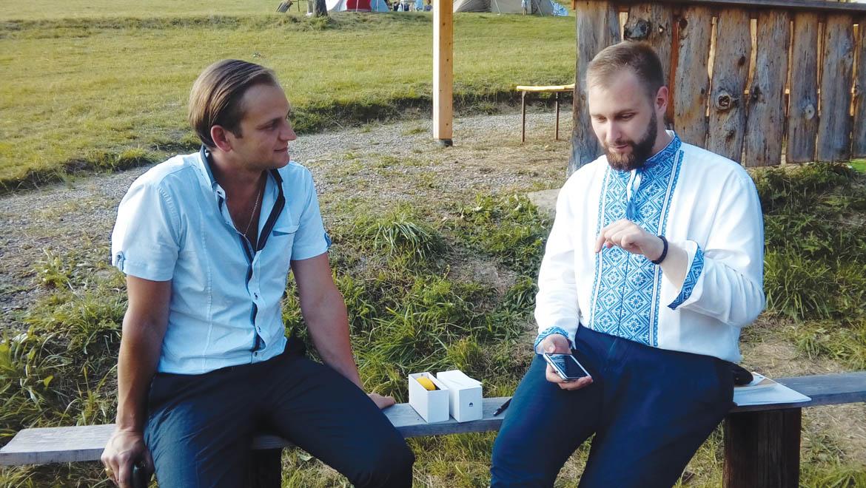 Марек Мохнач и Григорий Суханич