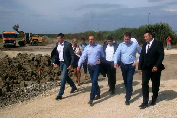 Иґор Мирович нащивел Индустрийну зону у шидскей општини