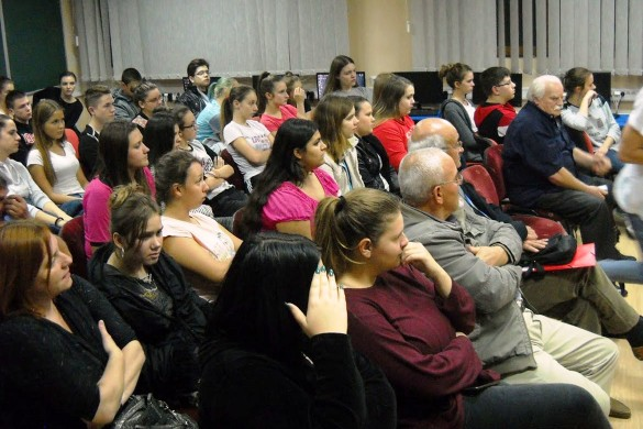 У Доме школярох госцовали поетеси Тиркайлова и Бошнякова