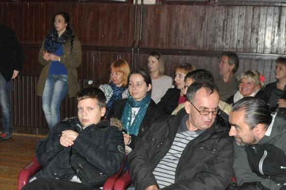 Мултимедиялни перформанс у Руским културним центру