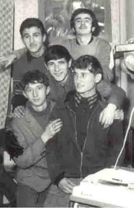 Ковач, Дьока, Меґре, Ринґо, Бинди 1966. року