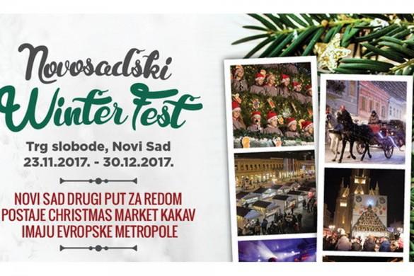 novosadski winter fest plakat
