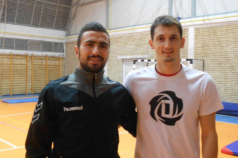 Александар Боґданов и Марко Радишич